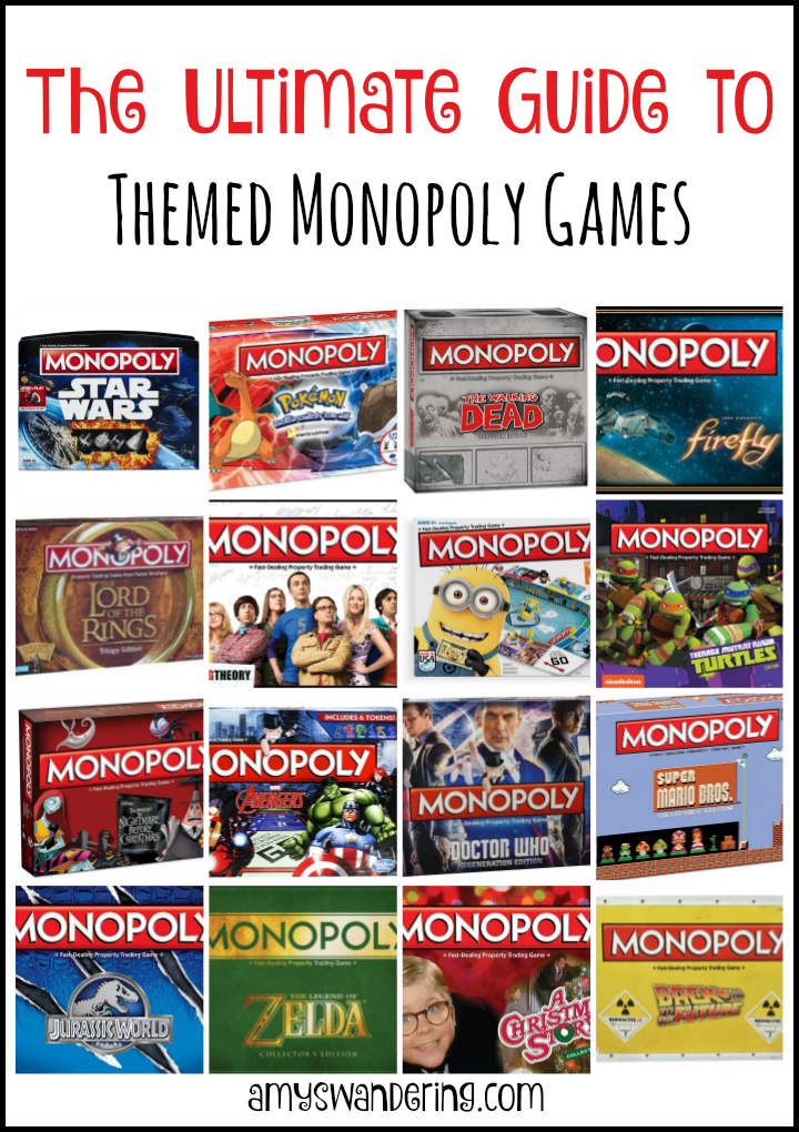 Ultimate Guide to Themed Monopoly Games