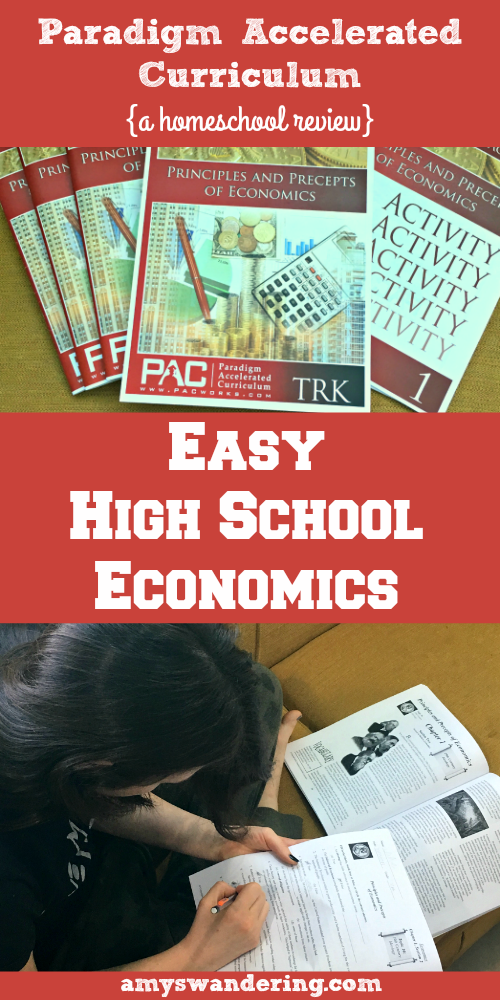 Easy High School Economics Curriculum