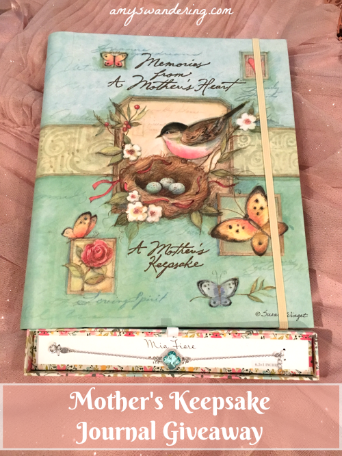 Mother's Keepsake Journal Giveaway