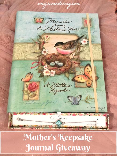 Mother's Keepsake Journal Giveaway