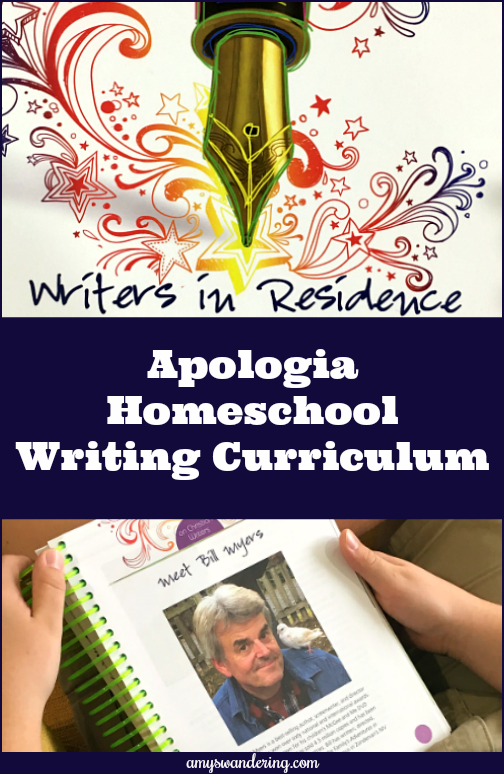 Writers in Residence Homeschool Curriculum