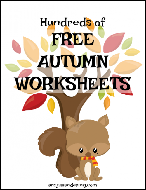 Free Autumn Worksheets