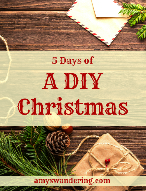 5 Days of A DIY Christmas