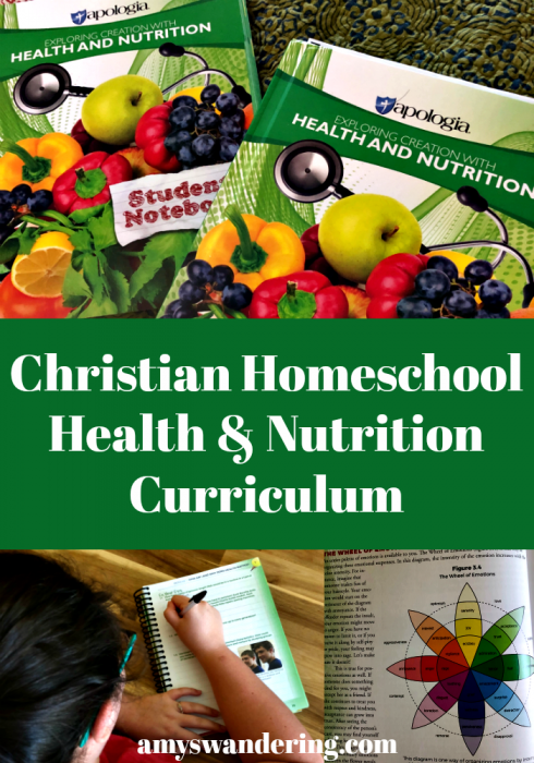 Christian Homeschool Health Nutrition Curriculum
