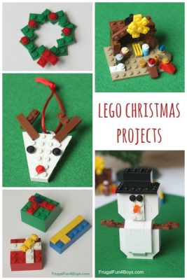 Christmas Projects @ Frugal Fun for Boys and Girls