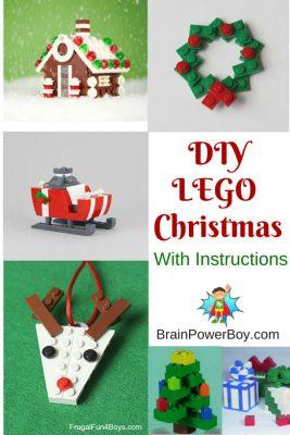 DIY Christmas @ Brain Power Boy