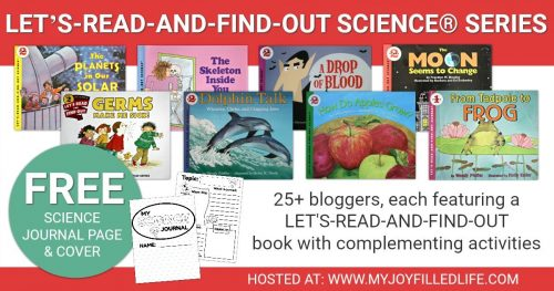Let's-Read-and-Find-Out Science series activities